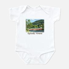 Taftsville VT Covered Bridge Infant Bodysuit