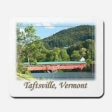 Taftsville VT Covered Bridge Mousepad