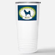 American Akita Travel Mug