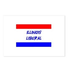 Illinois Liberal Postcards (Package of 8)