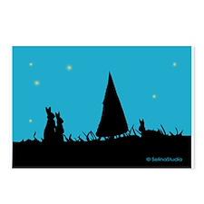 Bunny: Season's Greetings Postcards (Package of 8)