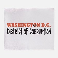 Washington D C Throw Blanket