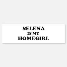 Scarlett Is My Homegirl Bumper Bumper Bumper Sticker