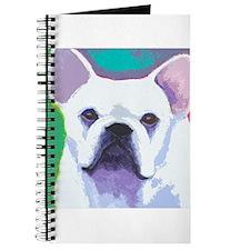 White French Bulldog Journal