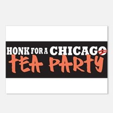 Chicago Tea Party Postcards (Package of 8)