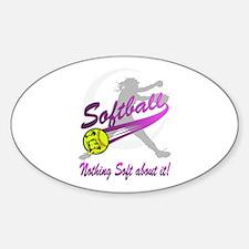 Girls Softball Bumper Stickers