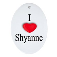Shyanne Oval Ornament