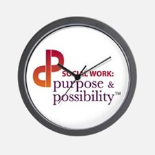 Purpose & Possibility Wall Clock