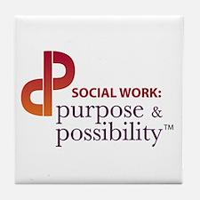 Purpose & Possibility Tile Coaster