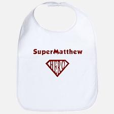 Super Hero Matthew Bib