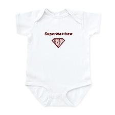 Super Hero Matthew Infant Bodysuit