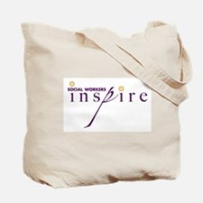 Social Workers Inspire Tote Bag