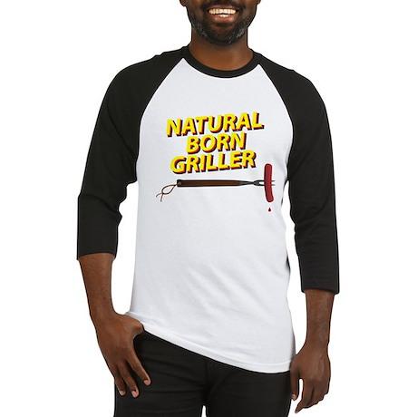 Natural Born Griller Baseball Jersey