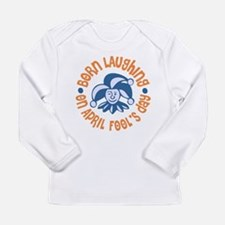 April Fool's Birthday Long Sleeve Infant T-Shirt