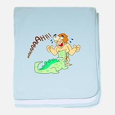 Tarzan baby blanket