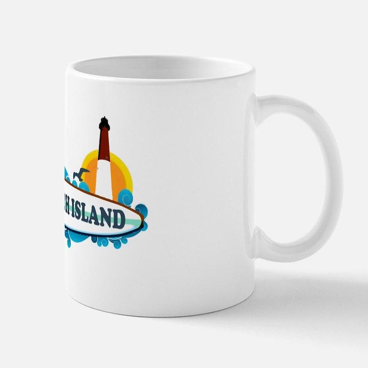 Long Beach Island NJ - Surf Design Mug