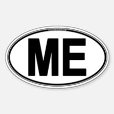 (ME) Euro Oval Decal