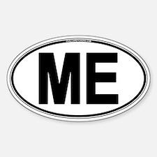 (ME) Euro Oval Sticker (Oval)