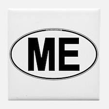 (ME) Euro Oval Tile Coaster