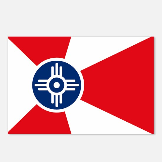 Wichita City Flag Postcards (Package of 8)