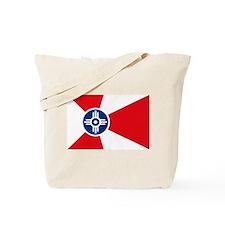 Wichita City Flag Tote Bag