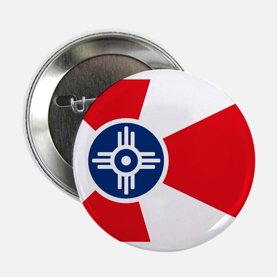 "Wichita City Flag 2.25"" Button (10 pack)"