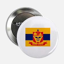 "St. Paul City Flag 2.25"" Button (10 pack)"