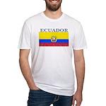Ecuador Ecuadorian Flag Fitted T-Shirt