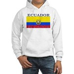 Ecuador Ecuadorian Flag Hooded Sweatshirt