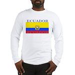 Ecuador Ecuadorian Flag Long Sleeve T-Shirt