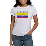 Ecuador Ecuadorian Flag Women's T-Shirt