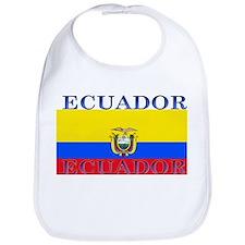 Ecuador Ecuadorian Flag Bib