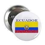 Ecuador Ecuadorian Flag Button