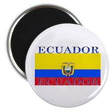 Ecuador Ecuadorian Flag Magnet