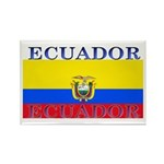 Ecuador Ecuadorian Flag Rectangle Magnet (10 pack)