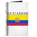 Ecuador Ecuadorian Flag Journal