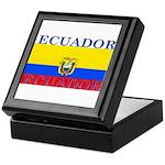 Ecuador Ecuadorian Flag Keepsake Box