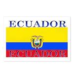 Ecuador Ecuadorian Flag Postcards (Package of 8)