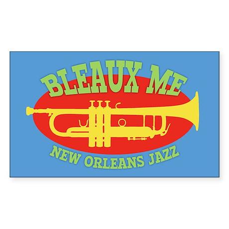 Bleaux Me - Jazz Fest 2 Sticker (Rectangle)