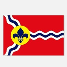 St. Louis Flag Postcards (Package of 8)