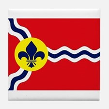 St. Louis Flag Tile Coaster