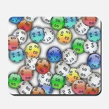 Lucky Lotto Balls Mousepad
