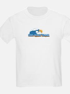 Long Beach Island NJ - Waves Design T-Shirt