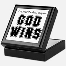 God Wins Keepsake Box
