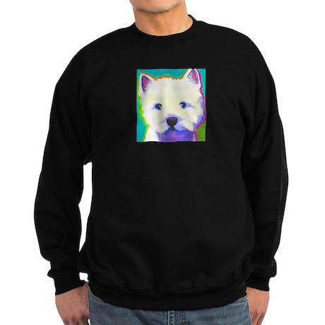 Westie Sweatshirt (dark)