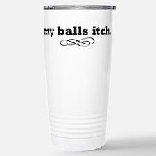 BallsItch Stainless Steel Travel Mug