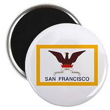 """San Francisco Flag 2.25"""" Magnet (10 pack)"""