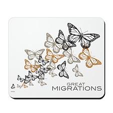 Butterfly Swarm Mousepad
