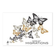Butterfly Swarm Postcards (Package of 8)