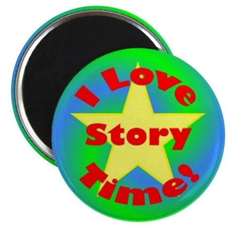 "Story Time 2.25"" Magnet (100 pack)"